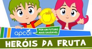 """Escolas dos Açores concorrem aos """"Heróis da Fruta – Lanche Escolar Saudável"""""""