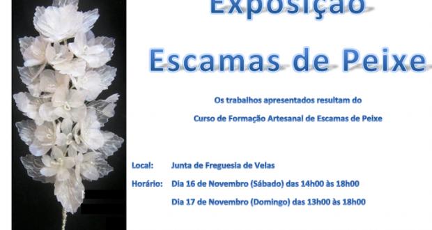 Exposição de trabalhos em escamas de Peixe decorre este fim-de-semana nas Velas (c/audio)