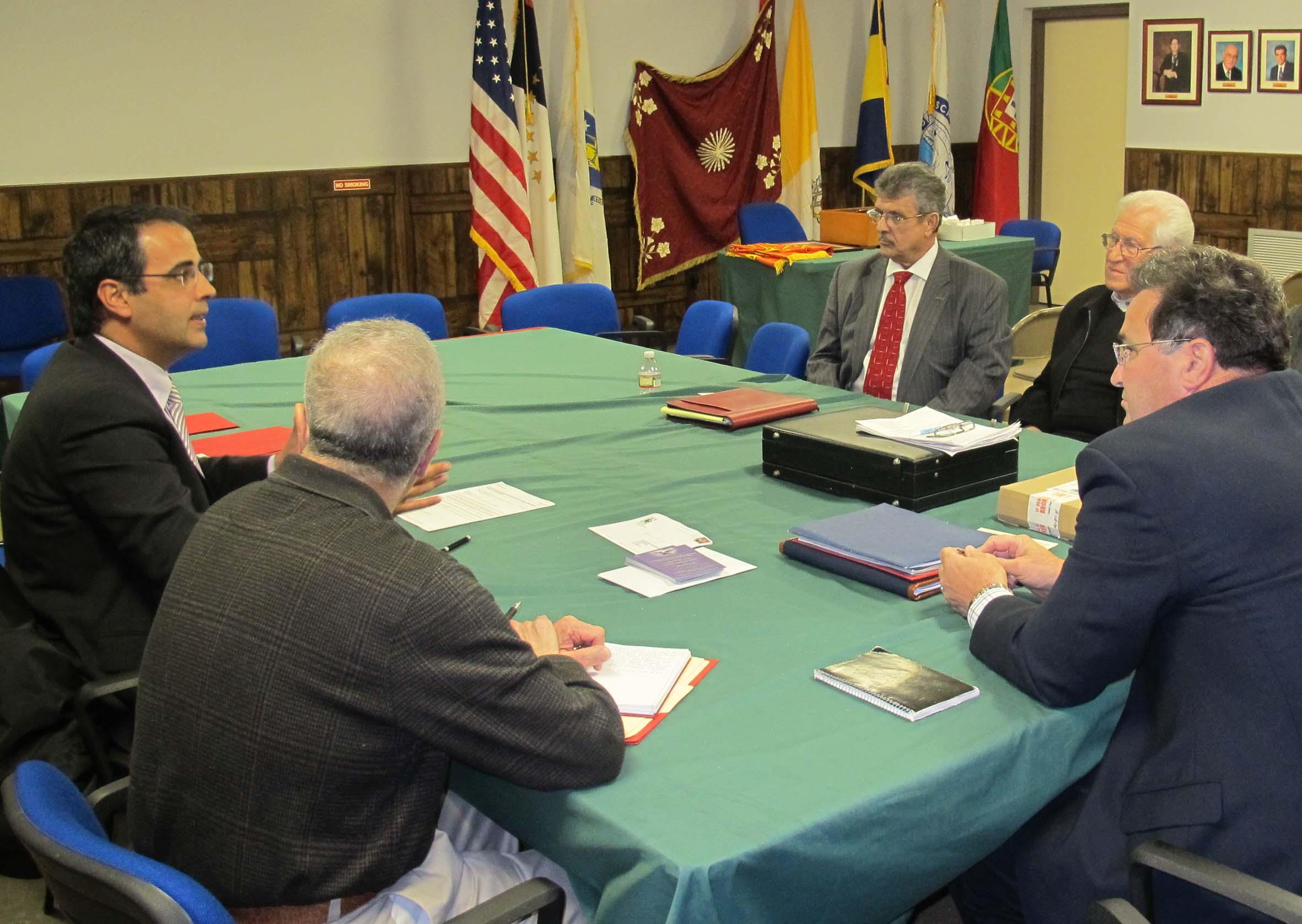 Paulo Teves destaca trabalho para promover os valores culturais açorianos no Massachusetts
