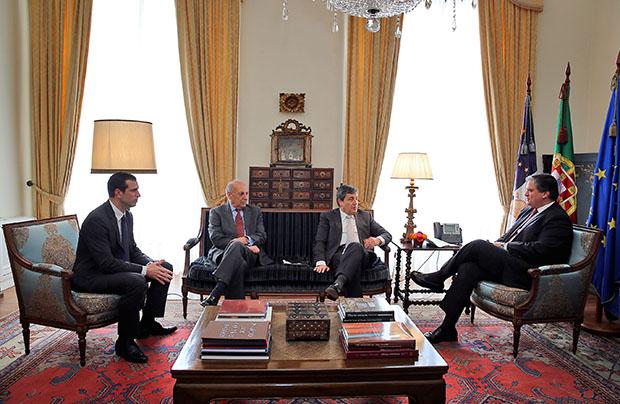 Vasco Cordeiro recebe Presidente da Federação Portuguesa de Futebol