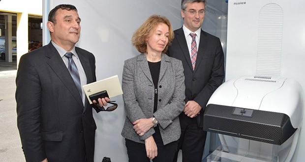 Luís Cabral inaugura nova unidade móvel de rastreio do cancro de mama