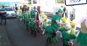 Décio Pereira satisfeito com Desfile de Carnaval na Vila da Calheta
