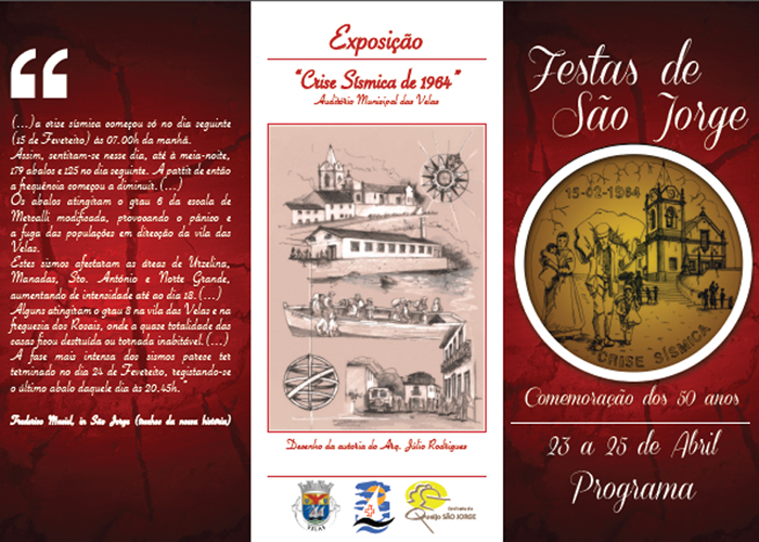 Festas de São Jorge recordam crise sísmica de 1964 (c/audio)
