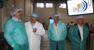 """""""Fábrica de conservas de Santa Catarina tem uma importância fundamental"""", afirmou António Marinho"""