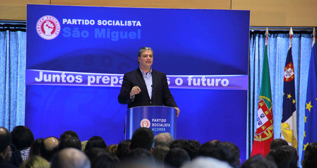 """""""Criação de emprego é o principal desafio que temos pela frente"""", afirmou Vasco Cordeiro"""