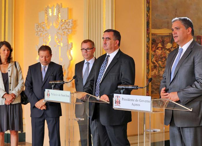 Presidente do Governo destaca parceria com a ECTAA para projeção europeia do Destino Açores