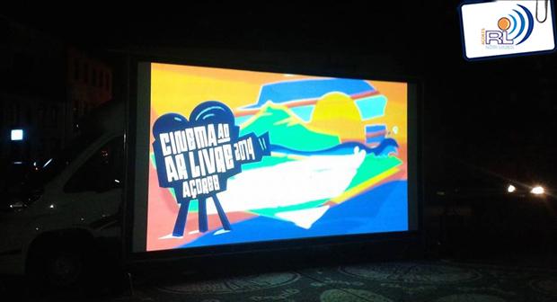 Circuito de Cinema ao Ar Livre em São Jorge