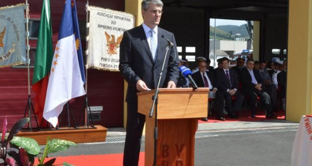Luís Cabral reafirma empenho do Governo dos Açores na modernização das associações humanitárias