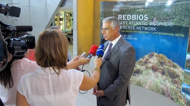 """Luís Neto Viveiros considera que a marca 'Reserva da Biosfera' é uma forma de colocar """"os Açores no mundo"""""""