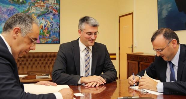 Luís Cabral destaca cooperação entre o SRPCBA e a GALP em benefício dos bombeiros