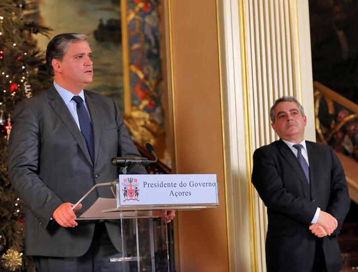 Vasco Cordeiro analisou redução de impostos com parceiros sociais e partidos políticos