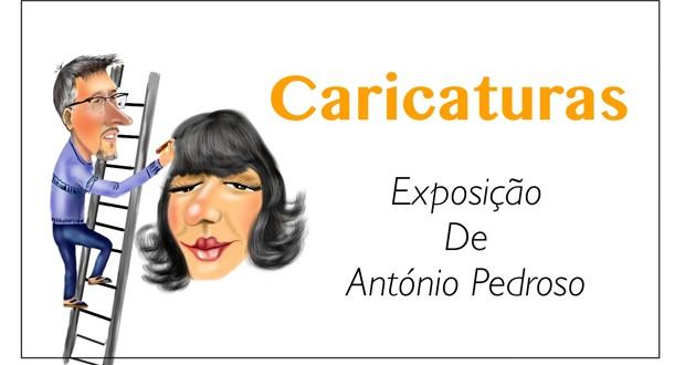 "Museu Francisco de Lacerda expõe ""Caricaturas"" da autoria de António Pedroso"