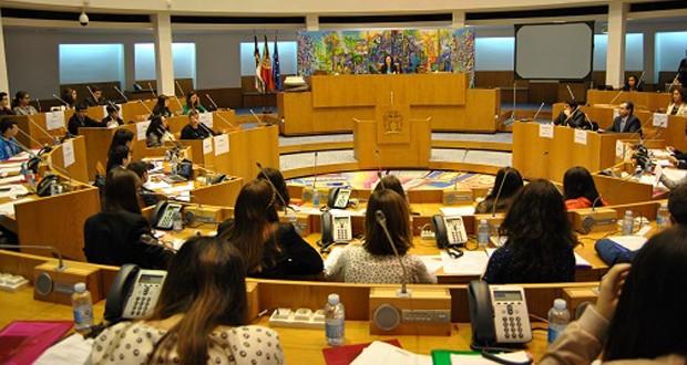 Assembleia Legislativa recebe Parlamento dos Jovens do Ensino Básico