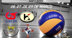 Seniores Masculinos de Voleibol do FCC vencem Campeonato Regional e ascendem à Zona Açores (c/áudio)