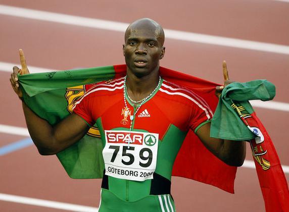 Atleta olímpico Francis Obikwelu presente na fase regional do MegaSprinter/MegaSalto