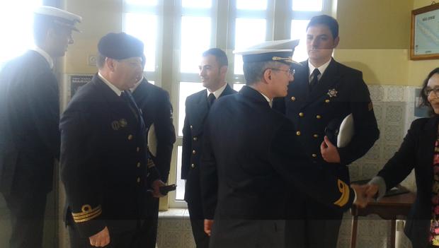 Comandante da Zona Marítima dos Açores de visita a São Jorge (c/áudio)