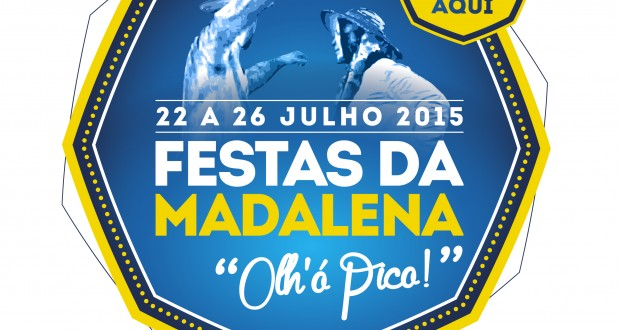 Festas da Madalena arrancam a 22 de julho