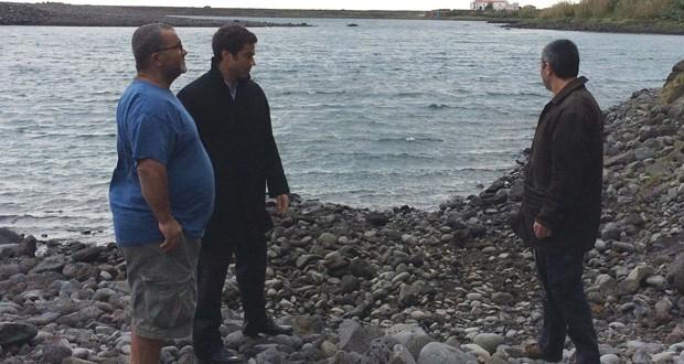 Governo dos Açores investe 235 mil euros na proteção da orla costeira de São Jorge (c/áudio)