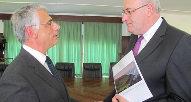 Região assegura envolvimento na revisão do POSEI junto do Comissário Europeu da Agricultura