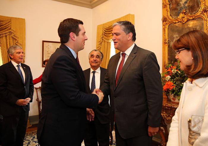 Vasco Cordeiro destaca oportunidade da visita de Congressistas dos EUA às Lajes
