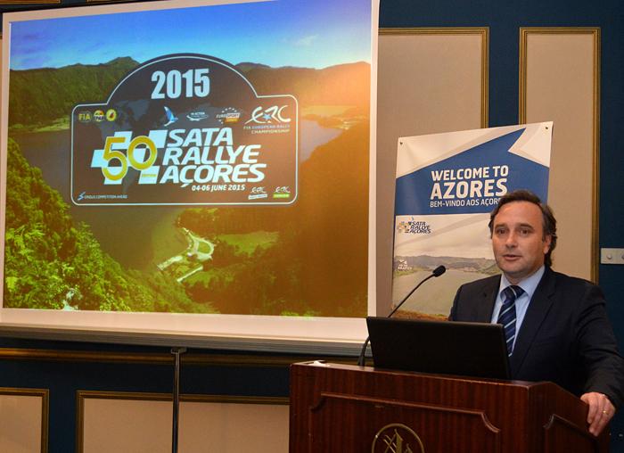 Vítor Fraga destaca impacto do SATA Rallye Açores na economia regional