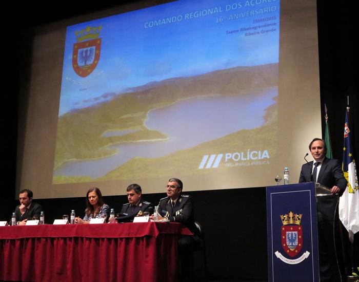 Segurança é mais-valia para imagem do Destino Açores, afirma Vítor Fraga