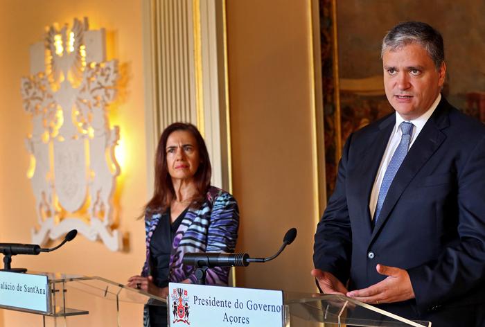 Governo interessado e disponível para reforçar parceria com as Forças de Segurança, garante Vasco Cordeiro