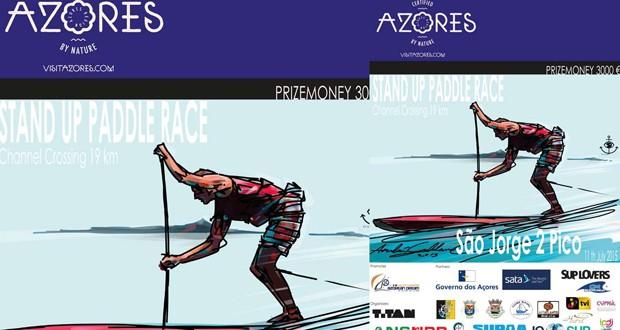 Stand Up Paddle volta a ligar São Jorge e Pico numa prova de 19km em águas abertas