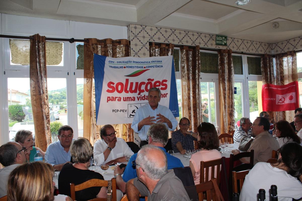 Jerónimo de Sousa participa em almoço-convívio no Faial