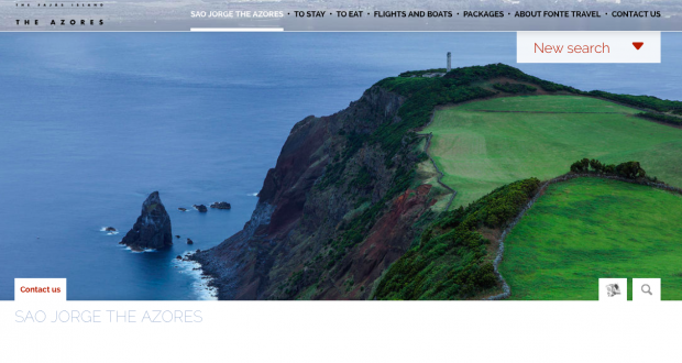 São Jorge já dispõe de plataforma digital com todas as informações necessárias para o turismo (c/áudio)