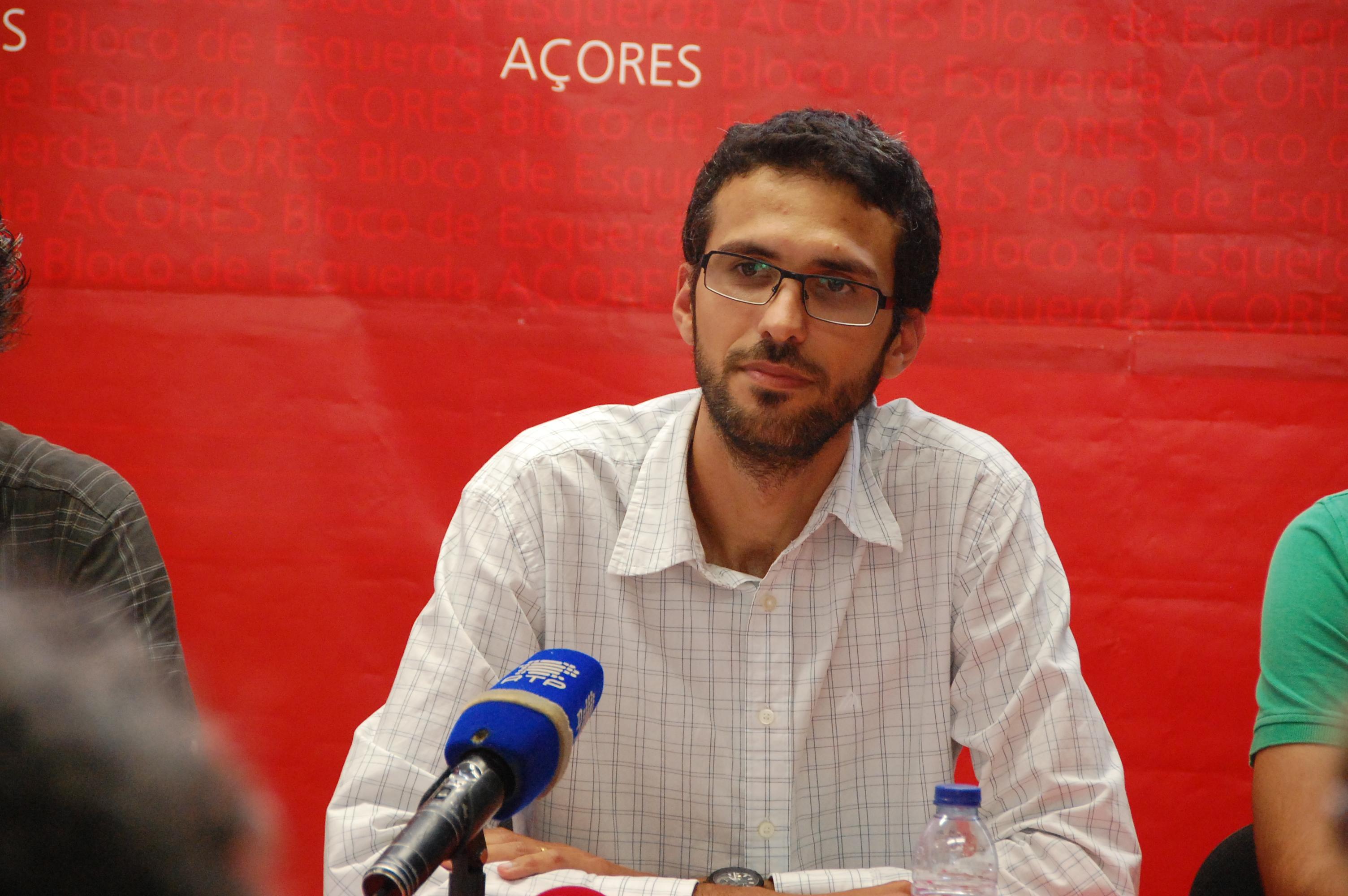 António Lima é o cabeça-de-lista do BE/Açores à Assembleia da República