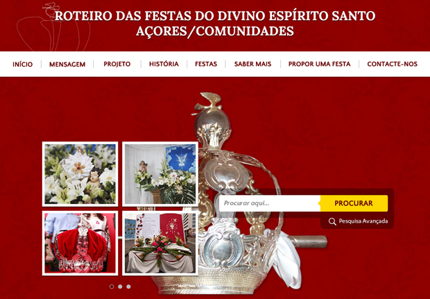 Roteiro das Festas do Divino Espírito Santo Açores/Comunidades apresentado nos EUA