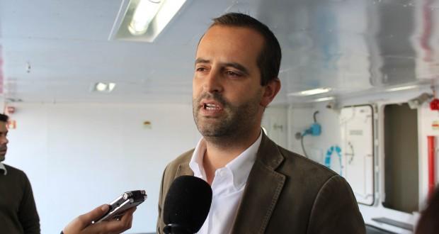 """""""Candidatura a fundos comunitários para os novos barcos decorre dentro da normalidade"""", realçou Miguel Costa"""
