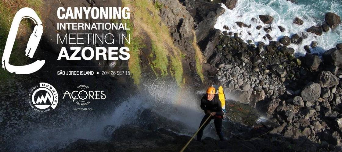 Já começou o II Encontro Internacional de Canyoning em São Jorge: participantes e organização confirmam potencial da ilha (c/áudio)