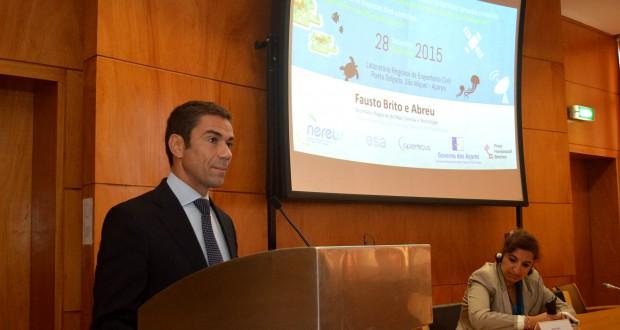 Açores querem colaborar mais com outras regiões europeias em tecnologias espaciais, afirma Brito e Abreu