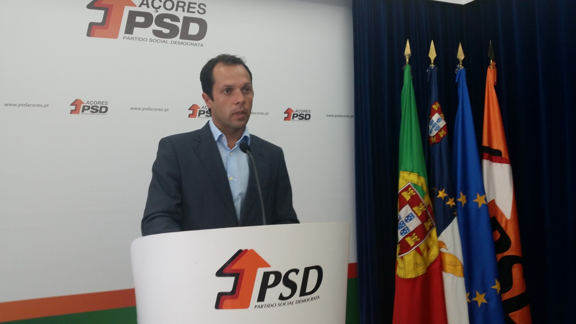 Alexandre Gaudêncio demite-se da liderança do PSD/Açores