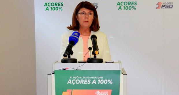 Berta Cabral apresenta propostas para os Açores