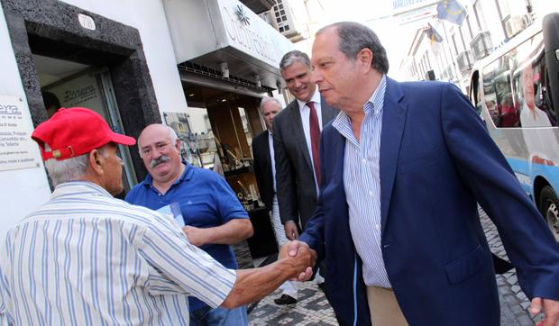 Só o voto no PS garante uma mudança de governação no país, assegura Carlos César