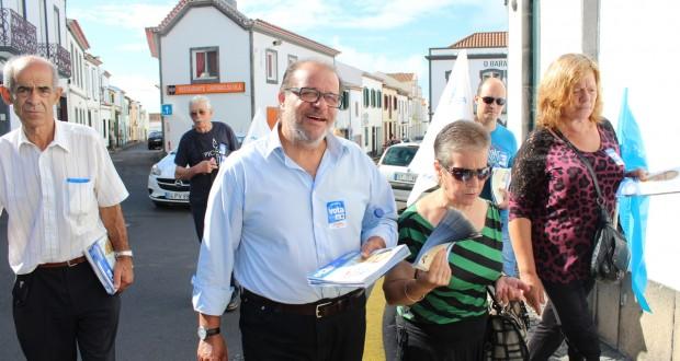 """CDU leva às pessoas """"mensagem de esperança"""", de acordo com Aníbal Pires"""