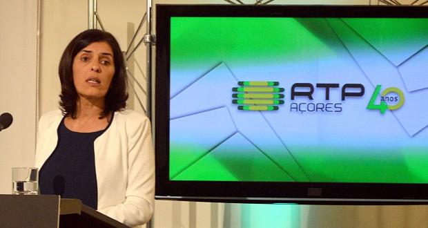 Governo Regional apoiará RTP Açores havendo acordo quanto a condições essenciais, afirma Isabel Rodrigues