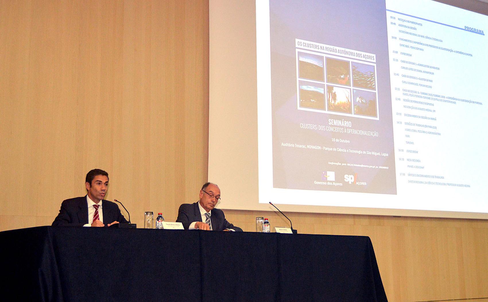'Clusterização' contribuirá para competitividade empresarial nos Açores, afirma Brito e Abreu