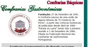 Padre Silveira agraciado com grau da Honra pela Confraria Gastronómica da Panela ao Lume, em Guimarães