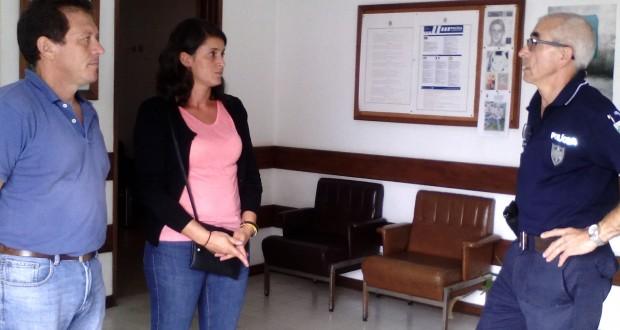 """""""Forças de segurança em São Jorge têm poucas condições para funcionamento digno"""", constatou Mónica Alvernaz"""