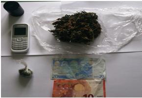 Detenção de individuo por tráfico de Cannabis nas Velas