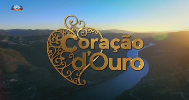 """São Jorge recebe gravações da novela """"Coração d'Ouro"""" (c/áudio)"""