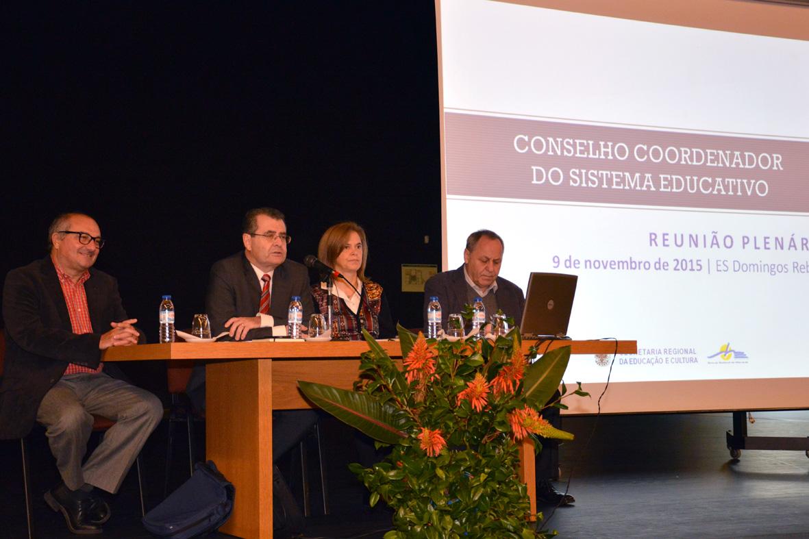 Secretário Regional da Educação e Cultura realça abaixamento significativo das taxas de retenção