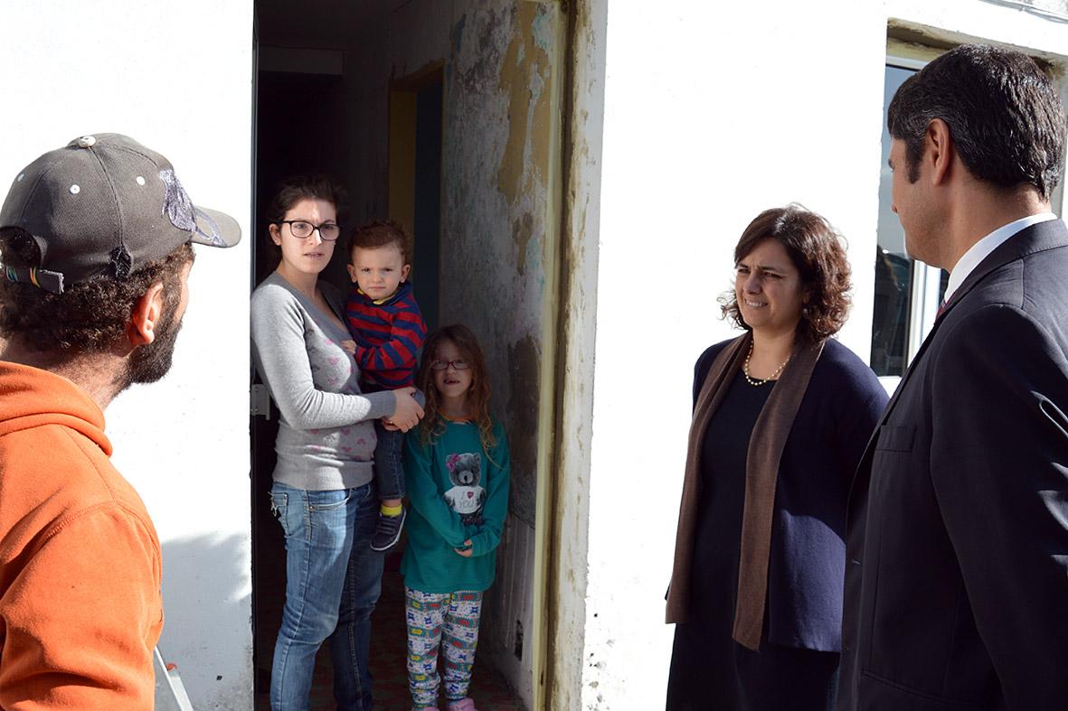 Governo dos Açores já iniciou trabalhos de recuperação de habitações afetadas pelo mau tempo