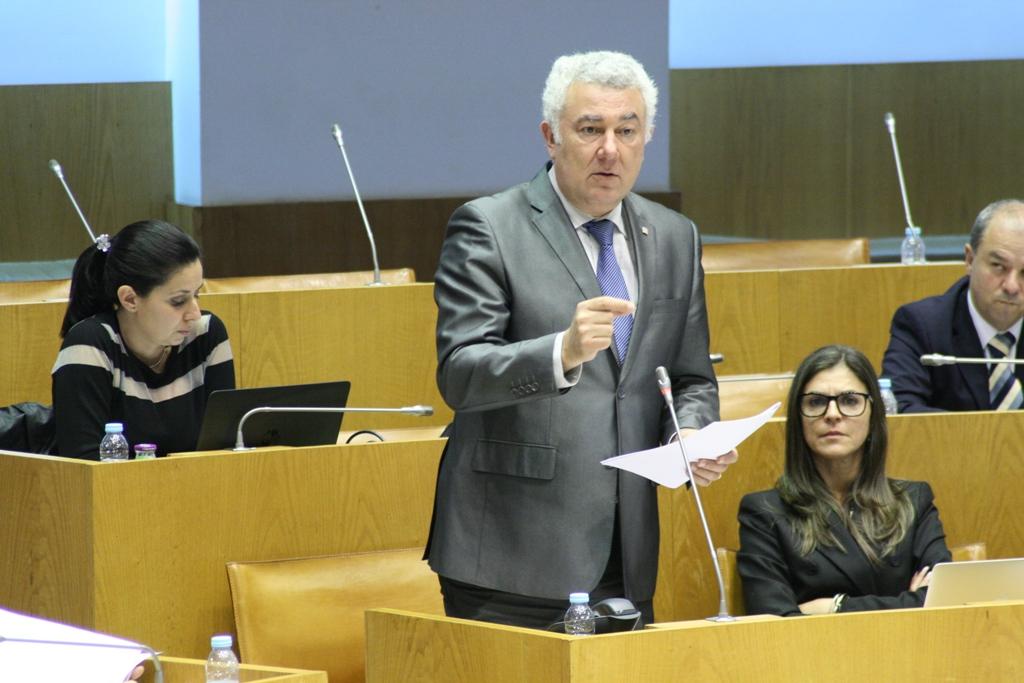 Governo Regional não tem programa de combate às toxicodependências, denuncia Artur Lima