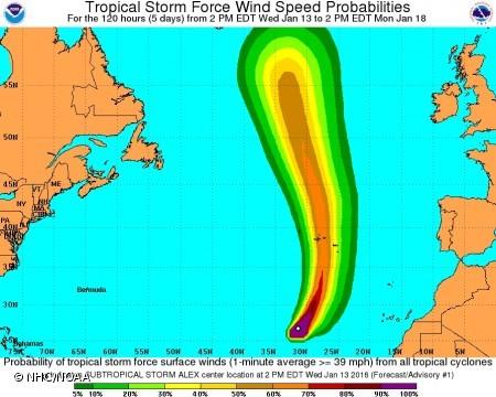 Ciclone passa a furacão e previsão do estado do tempo volta a agravar-se nos Açores, alerta Proteção Civil
