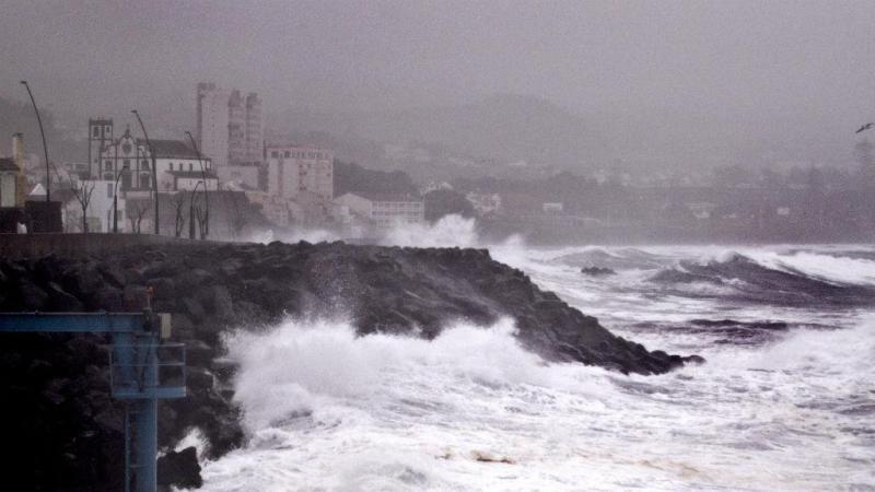Proteção Civil registou 43 ocorrências relacionadas com a passagem do furacão Alex, todas já encerradas